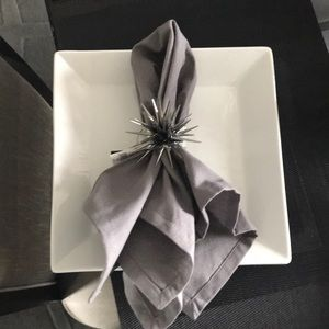 Other - New Set of 6 Gray 20x20 napkins